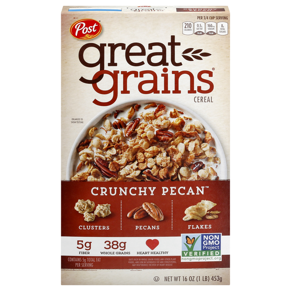 Post Great Grains Cereal Crunchy Pecans