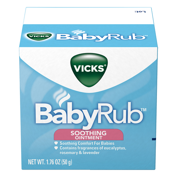 Vicks Baby Rub Soothing Vapor Ointment