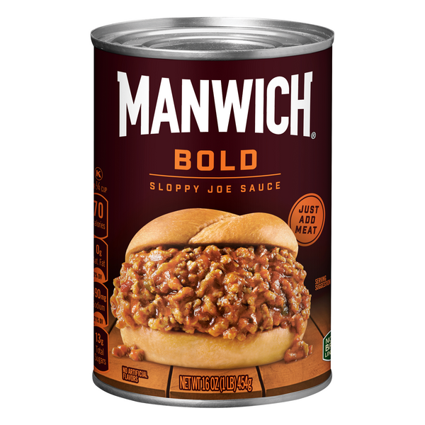 Hunt's Manwich Sloppy Joe Sauce Bold