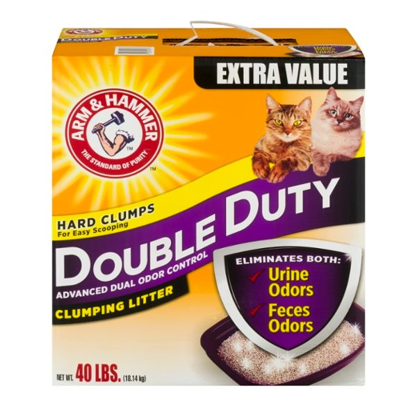 Arm & Hammer Double Duty Clumping Litter Advanced Odor Control