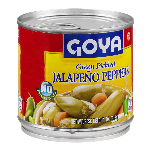 Goya Jalapeno Peppers Pickled Green (Chiles Jalapenos En Escabeche)