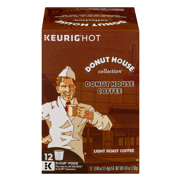Donut House Collection Light Roast Coffee K-Cups