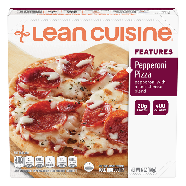 Lean Cuisine Features Pizza Pepperoni