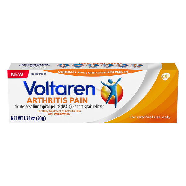 Voltaren Topical Arthritis Pain Relief Gel