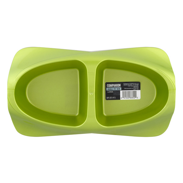 Companion Double Pet Dish Large