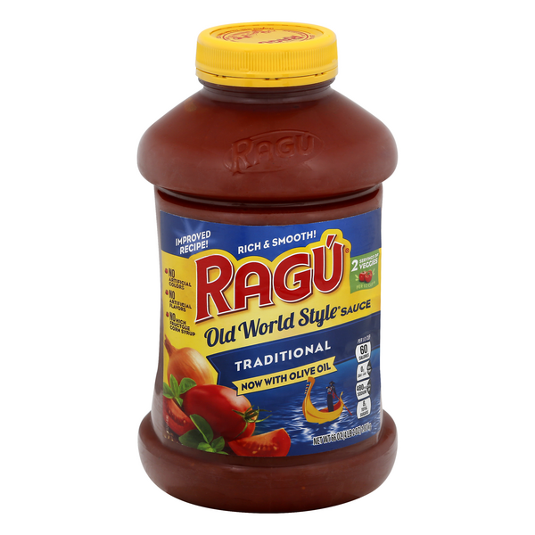 Ragu Old World Style Pasta Sauce Traditional with Olive Oil