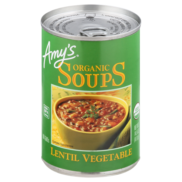Amy's Lentil Vegetable Soup Light in Sodium Organic
