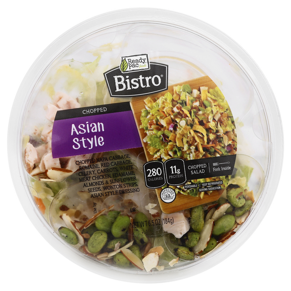Ready Pac Bistro Salad Bowl Chopped Asian Style