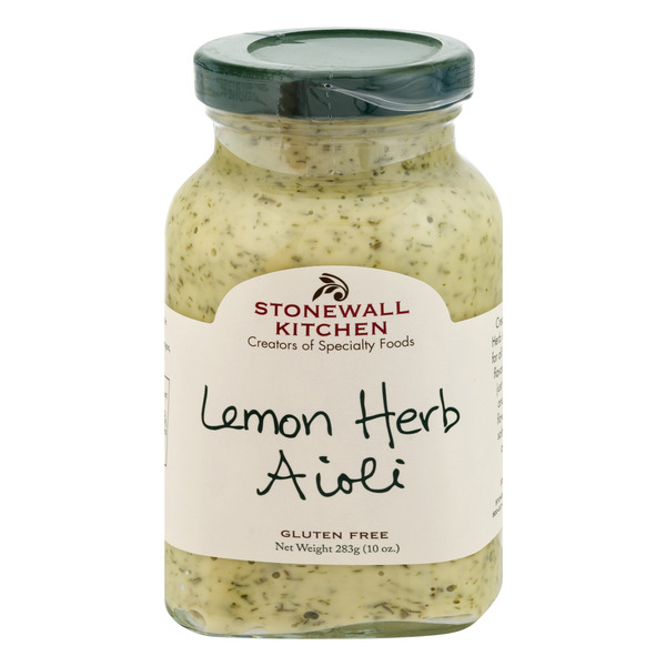 Stonewall Kitchen Lemon Herb Aioli Gluten Free