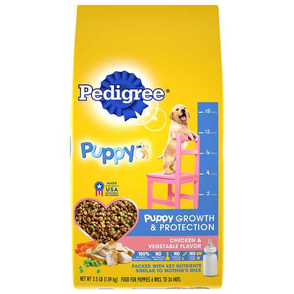 Pedigree Dry Puppy Food Growth & Protection Chicken & Vegetable