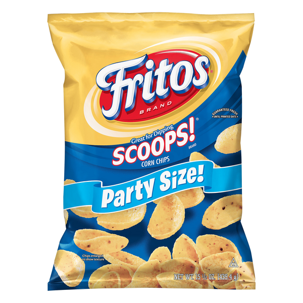 Fritos Corn Chips Scoops! Party Size