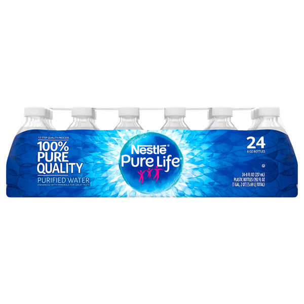 Nestle Pure Life Purified Water - 24 pk