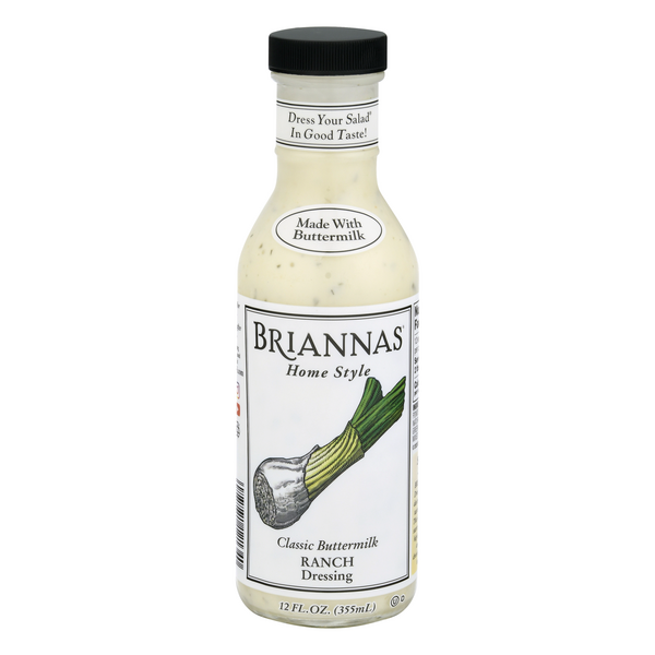 Briannas Home Style Classic Buttermilk Ranch Dressing