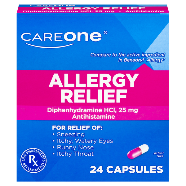 CareOne Easy to Swallow Allergy Relief Gluten Free