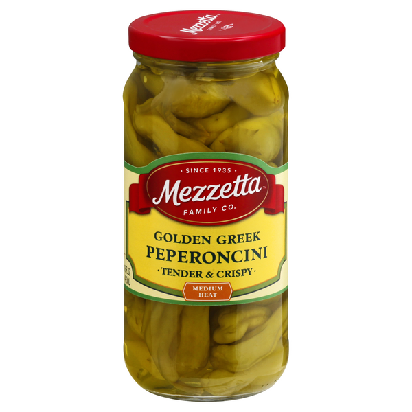 Mezzetta Pepperoncini Imported Greek Golden
