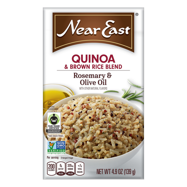 Near East Quinoa & Brown Rice Blend Rosemary & Olive Oil