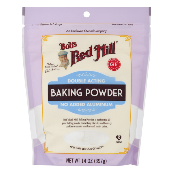 Bob's Red Mill Double Acting Baking Powder No Added Aluminum Gluten Free