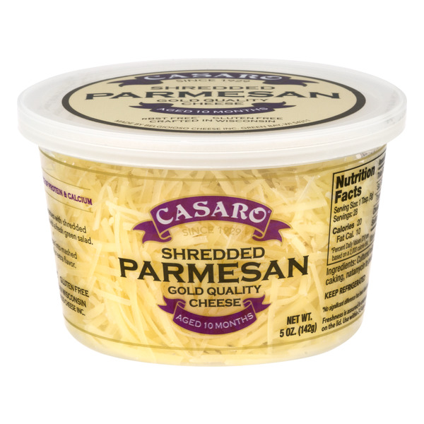 Casaro Parmesan Cheese Shredded