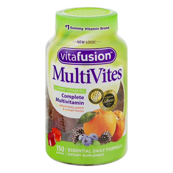 Vitafusion MultiVites Complete Muilti Vitamin for Adults Gummies