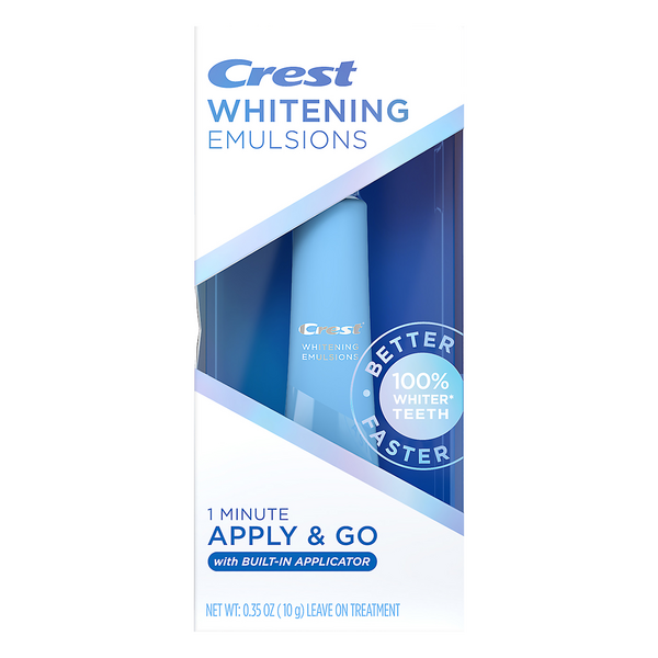 Crest Whitening Emulsions Leave On-the-Go Treatment