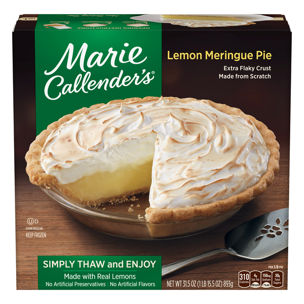 Marie Callender's Pie Lemon Meringue