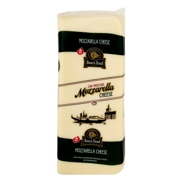 Boar's Head Deli Mozzarella Cheese Whole Milk (Regular Sliced)