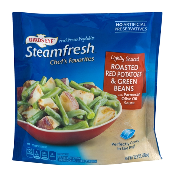 Birds Eye Steamfresh Chef's Favorites Roasted Red Potatoes & Green Beans