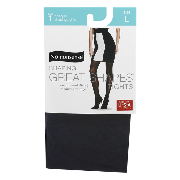 No nonsense Shaping Great Shapes Tights Opaque Size L