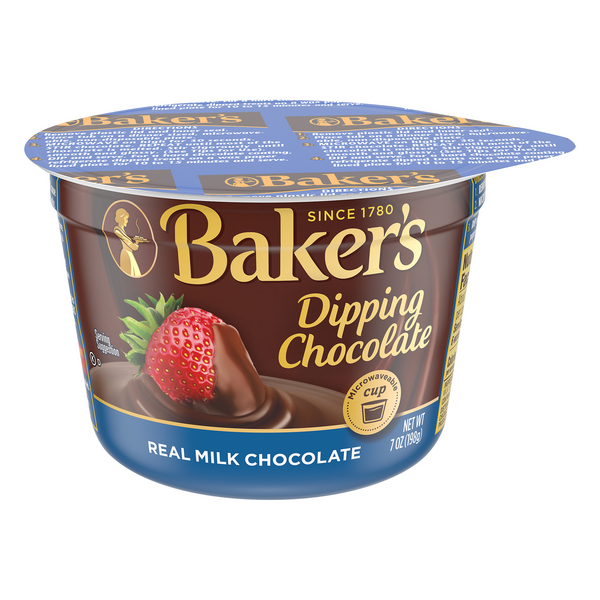 Baker's Dipping Chocolate Real Milk Chocolate