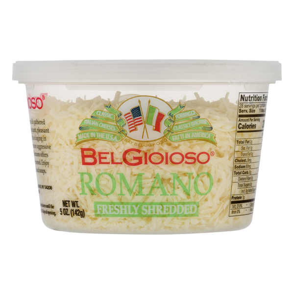 BelGioioso Romano Cheese Freshly Shredded