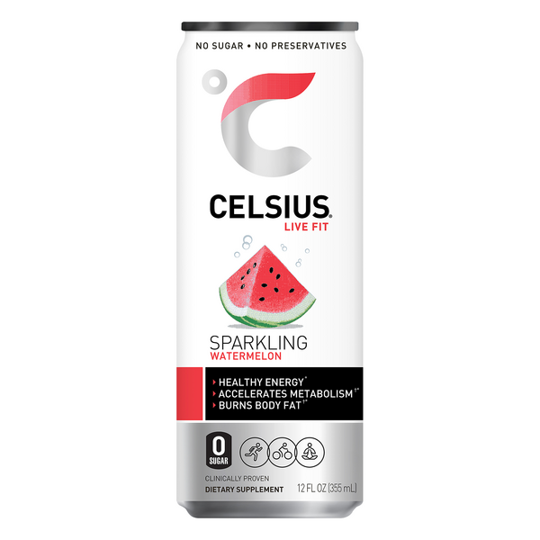 Celsius Sparkling Energy Drink Watermelon