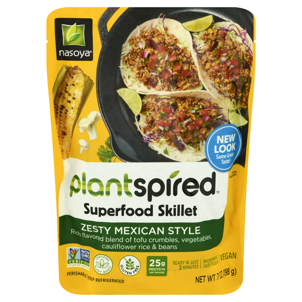 Nasoya Superfood Skillet Zesty Mexican Style Gluten Free