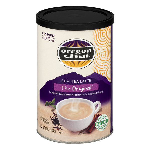 Oregon Chai Powdered Mix Chai Tea Latte The Original
