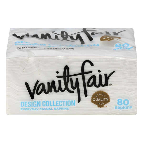 Vanity Fair Everyday Casual Napkins Design Collection