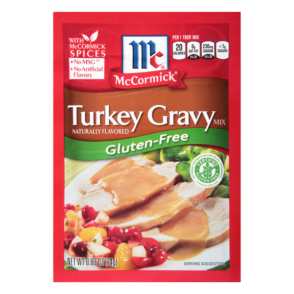 McCormick Turkey Gravy Mix Packet Gluten Free
