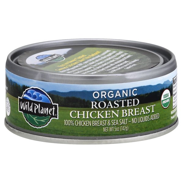 Wild Planet Chicken Breast Roasted & Sea Salt Organic