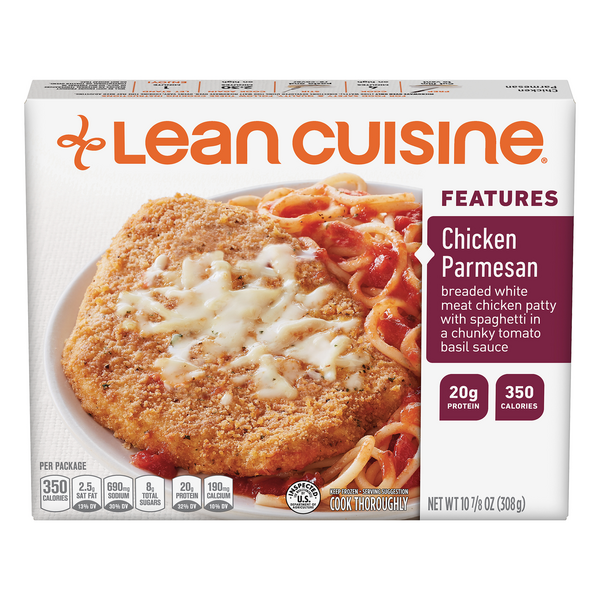 Lean Cuisine Features Chicken Parmesan