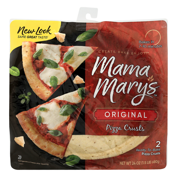 Mama Mary's Pizza Crusts Original - 2 ct