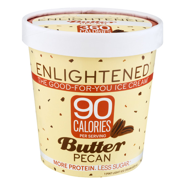 Enlightened Keto Collection Ice Cream Butter Pecan