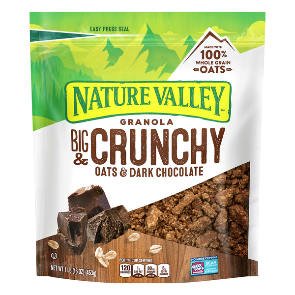 Nature Valley Granola Big & Crunchy Oats & Dark Chocolate