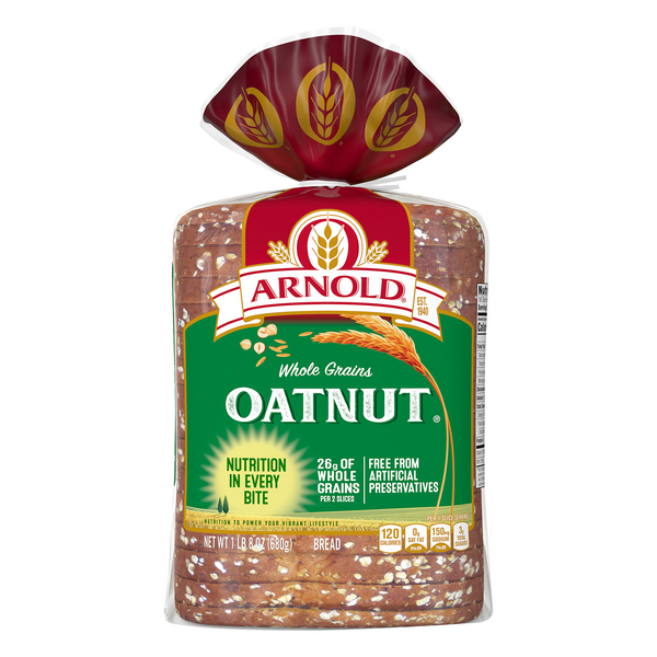 Arnold Whole Grains Oatnut Bread