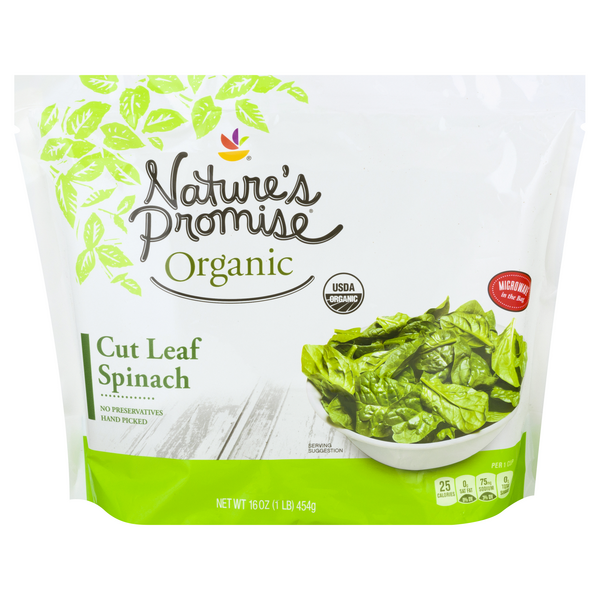 Nature's Promise Organic Cut Leaf Spinach