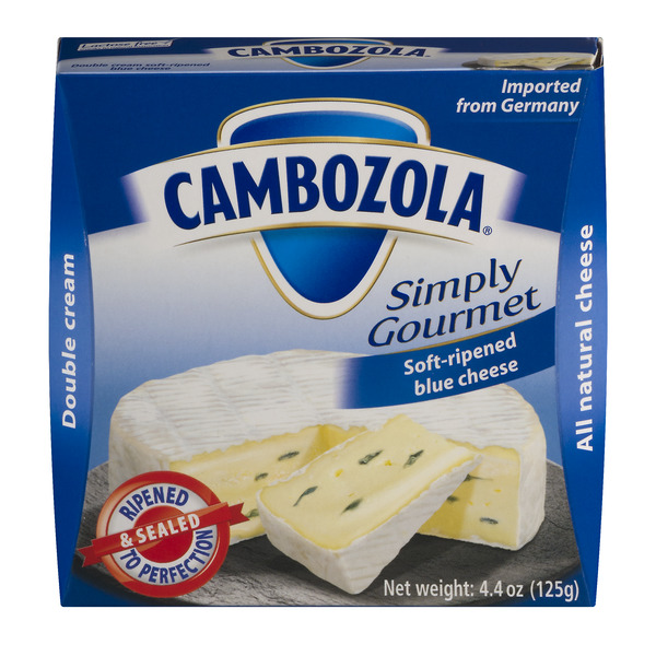Cambozola Simply Gourmet Soft-Ripened Blue Cheese