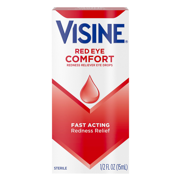 Visine Red Eye Comfort Drops