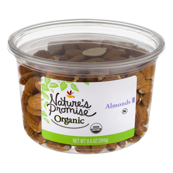 Nature's Promise Organic Almonds Raw Unsalted
