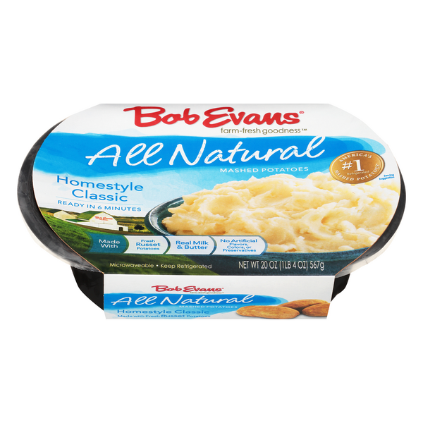 Bob Evans Mashed Potatoes Homestyle Classic All Natural