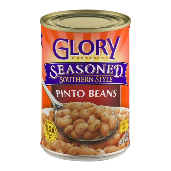 Glory Foods Pinto Beans Southern Style Seasoned