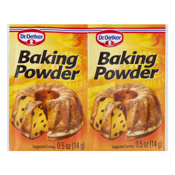 Dr. Oetker Baking Powder - 6 ct