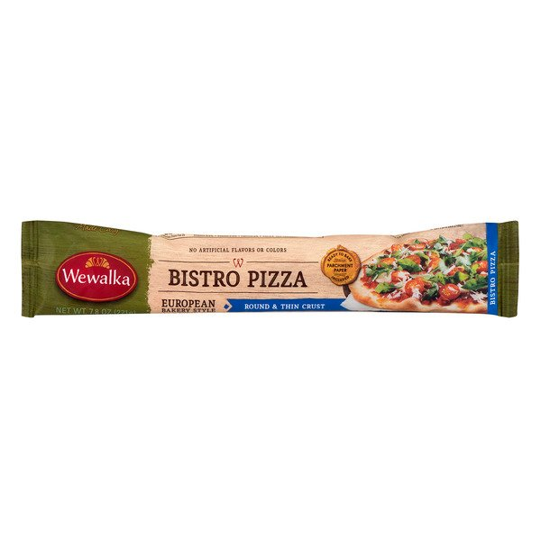 Wewalka Bistro Pizza European Bakery Style Dough Round & Thin Crust