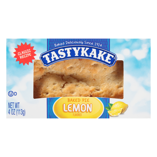 Tastykake Baked Pie Lemon